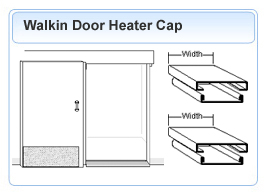 Walkin Heater Cap Door Frame